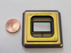 Calcolo del rapporto di proiezione conoscendo lunghezza focale e dimensione chip DLP™